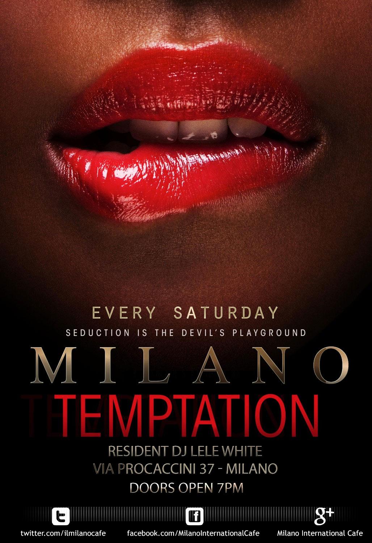 SABATO MILANO TEMPTATION